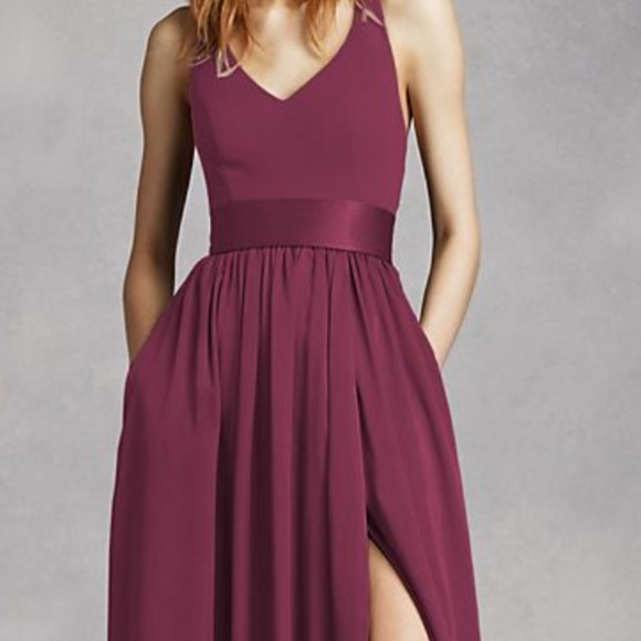 Vera Wang Dresses & Skirts - Vera Wang Formal Dress with Leg Slit